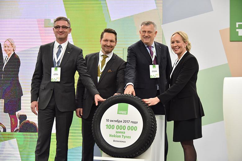 100 000 000 шин! Завод Nokian Tyres в России покорил новую высоту