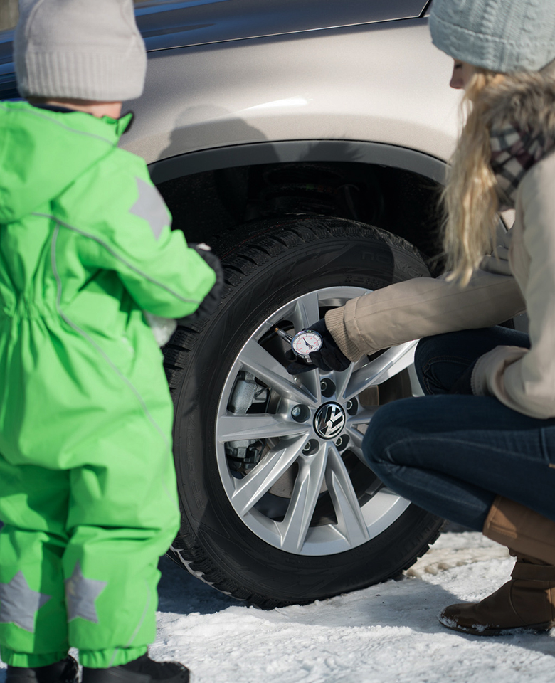 Check your tyres before setting off into the Christmas holiday traffic